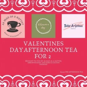 Valentines Day Afyernoon Tea For 2
